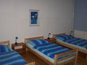 Hotel Pension Hansehus Hamburg Ohlsdorf private Zimmervermietung, hier Dreibettzimmer