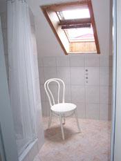 Duschbad für die Zimmer